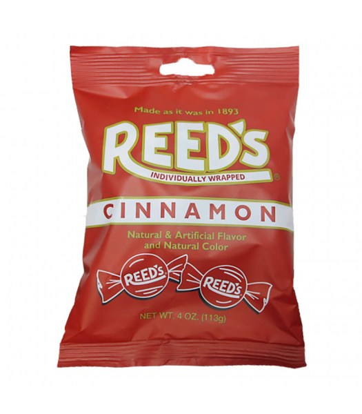 Reeds Cinnamon Peg Bag - 4oz (113g) Sweets and Candy Reed's