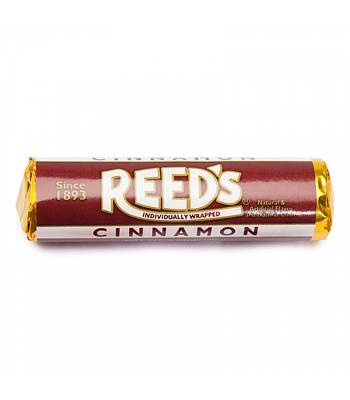 Reed's Cinnamon Flavored Hard Candy Roll 1.01oz (29g) Hard Candy