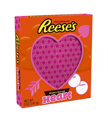 Reese's Milk Chocolate Peanut Butter Heart - 5oz (141g) Sweets and Candy Reese's