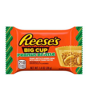 Reese's Big Cup Peanut Brittle - 1.4oz (39g) Sweets and Candy Reese's