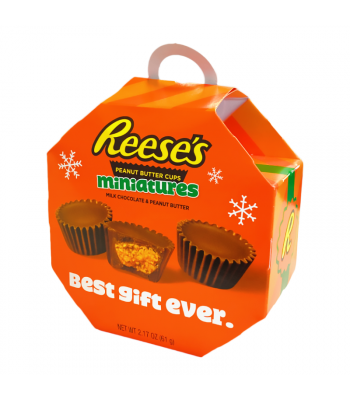 Reese's Peanut Butter Cup Minis Ornament Box - 2.17oz (61g) Sweets and Candy Reese's