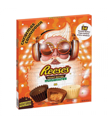 Clearance Special - Reese's Peanut Butter Cups Advent Calendar - 247g **Best Before: April 21** Clearance Zone