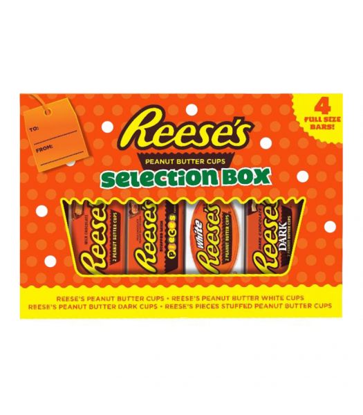 Reese's Peanut Butter 4-Piece Selection Box - 156g [Christmas] Sweets and Candy Reese's