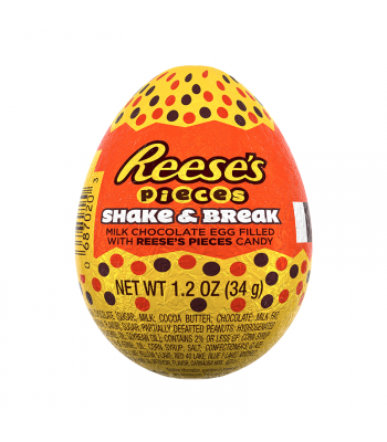 Reese's Pieces Shake & Break Egg - 1.2oz (34g) Sweets and Candy Reese's