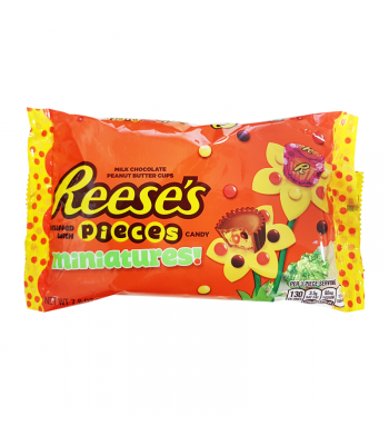 Reese's Peanut Butter Cups with Pieces Minis 7.8oz (221g) Sweets and Candy Reese's
