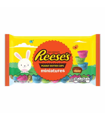 Reese's Peanut Butter Cups Miniatures 8.5oz (240g) Sweets and Candy Reese's