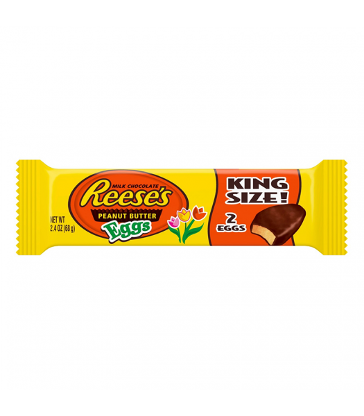 Reese's Peanut Butter Eggs King Size - 2.4oz (68g) Sweets and Candy Reese's