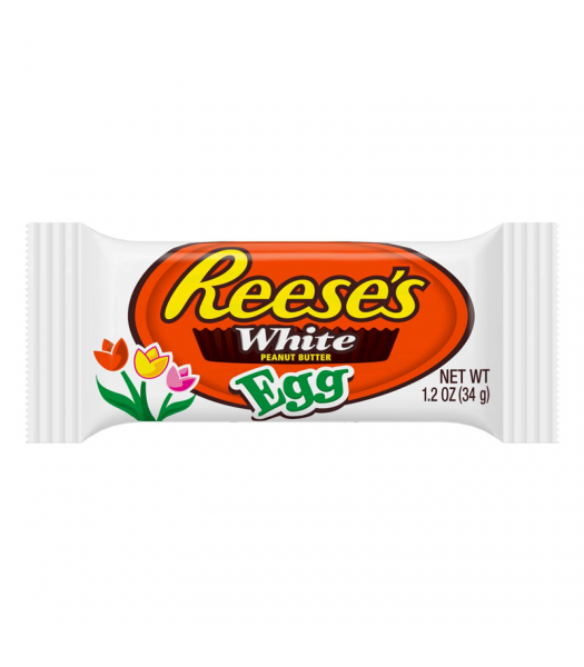 Reese's White Peanut Butter Egg - 1.2oz (34g) Sweets and Candy Reese's