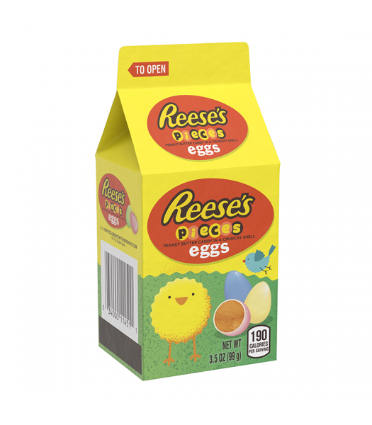 Reese's Pieces Pastel Eggs Mini Carton 3.5oz (100g) Sweets and Candy Reese's