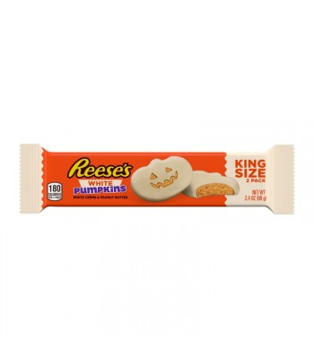 Reese's - White Chocolate Peanut Butter Pumpkins - 2.4oz (68g) [ Halloween Limited Edition ] Sweets and Candy Reese's