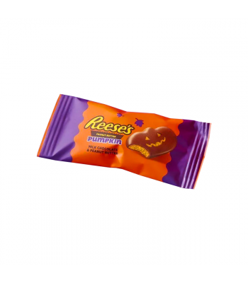 Reese's Snack Size Peanut Butter Pumpkin - 0.6oz (17g) - SINGLE Sweets and Candy Reese's