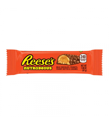 Reese's Nutrageous Bar 1.66oz (47g) Chocolate, Bars & Treats Reese's