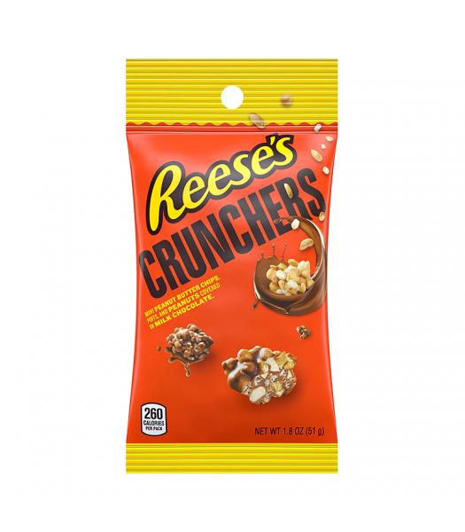 Reese's Crunchers 1.8oz (51g) Chocolate, Bars & Treats Reese's