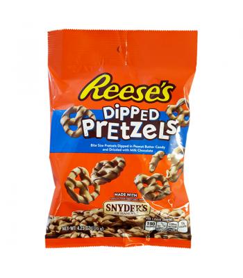 Reese's - Dipped Pretzels - 4.25oz (120g) Pretzel Snacks Reese's