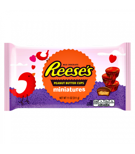 Clearance Special - Reese's Peanut Butter Cup Miniatures - 11oz (311g) **Best Before: October 17** Clearance Zone