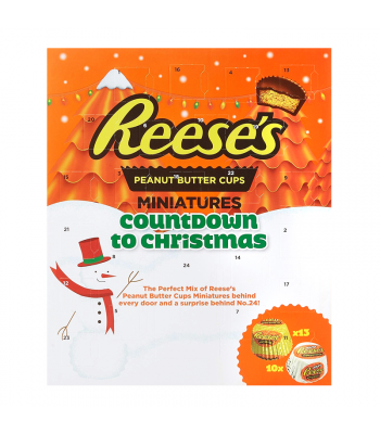 Reese's Advent Calendar - Peanut Butter Cup Miniatures (250g) [Christmas] Sweets and Candy Reese's