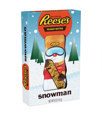 Reese's Peanut Butter Snowman - 5oz (141g) [Christmas] Sweets and Candy