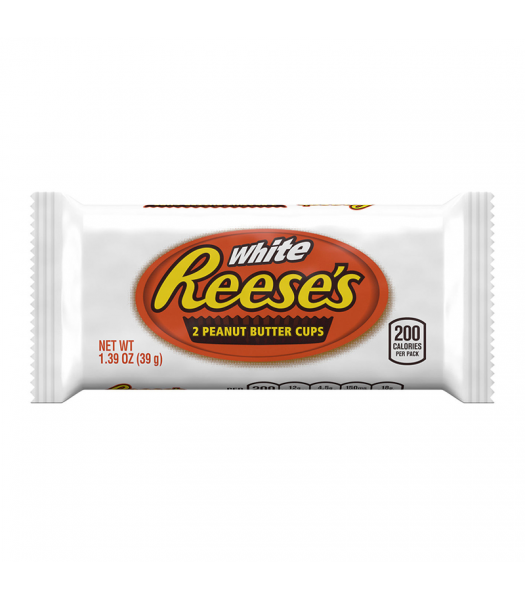Clearance Special -Reese's White Chocolate Peanut Butter Cups - 1.39oz (39g) **Best Before: 23 June 21** Clearance Zone