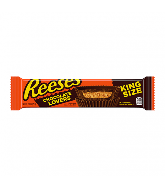 Reese's Limited Edition Chocolate Lovers Peanut Butter Cups King Size - 2.8oz (79g) Sweets and Candy Reese's
