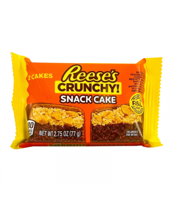 Reese's Crunchy Snack Cakes - 2.75oz (77g) Cookies and Cakes Reese's