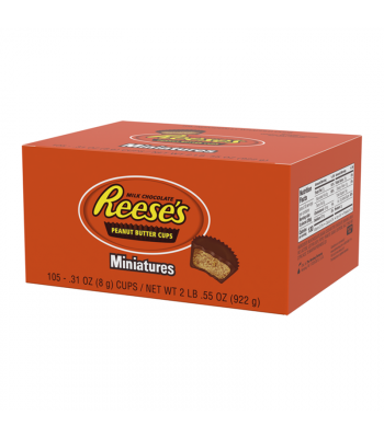 Clearance Special - Reese's Peanut Butter Cup Miniatures Display Box - 105-Pack **Best Before: March 21** Clearance Zone