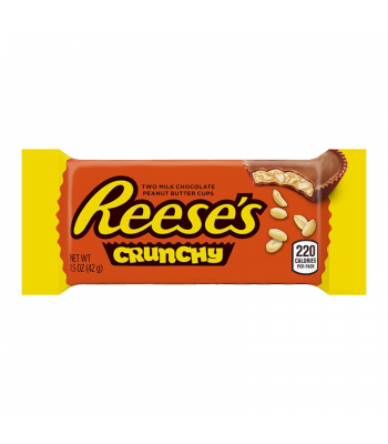 Reese's Peanut Butter Cup Crunchy - 1.5oz (43g) Chocolate, Bars & Treats Reese's