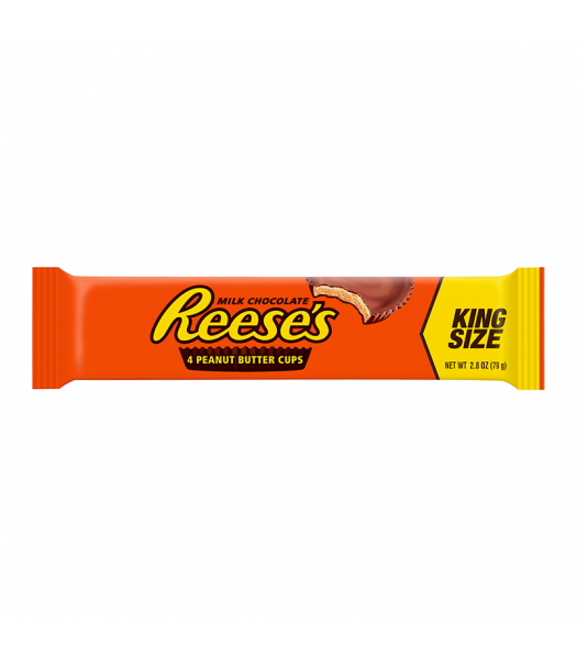 Reese's 4 Peanut Butter Cups King Size - 2.8oz (79g) Sweets and Candy Reese's