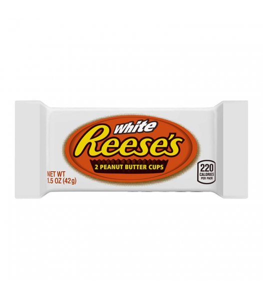 Reese's White Chocolate Peanut Butter Cups - 1.39oz (39g) Sweets and Candy Reese's