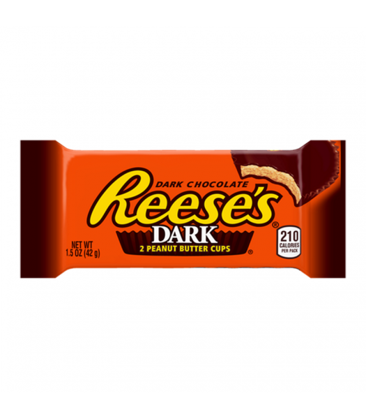 Reese's Dark Peanut Butter Cup 2 Pack - 1.5oz (42g) Sweets and Candy Reese's