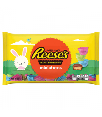 Reese's Easter Peanut Butter Cups Miniatures 8.5oz (240g) Chocolate, Bars & Treats Reese's