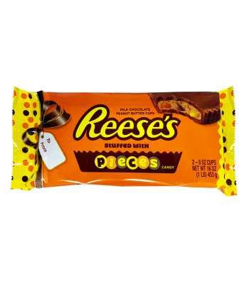 Reese's Giant Peanut Butter Cups Stuffed with Pieces - 1lb (453g) Sweets and Candy Reese's