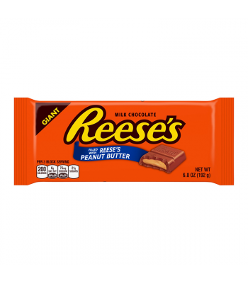 Reese's Peanut Butter Giant Bar - 6.8oz (192g) Chocolate, Bars & Treats Reese's