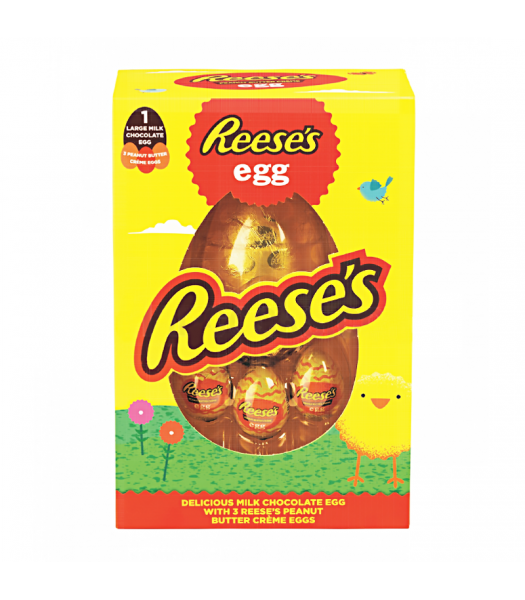 Reese's Milk Chocolate Egg /w 3 Reese's Creme Eggs (232g) Sweets and Candy Reese's
