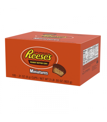 Clearance Special - Reese's Peanut Butter Cup Miniatures Display Box - 105-Pack **Best Before: October 21** Clearance Zone