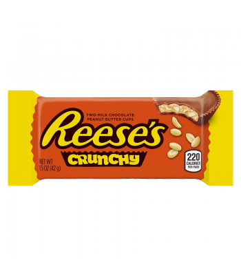 Reese's Peanut Butter Cup Crunchy 1.5oz (43g) Chocolate, Bars & Treats Reese's