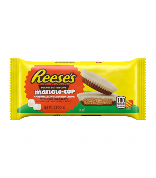 Reese's Peanut Butter Cups Mallow-top 1.2oz (34g) Sweets and Candy Reese's