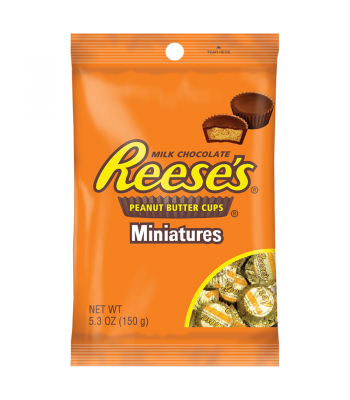 Reese's Miniature Peanut Butter Cups - 5.3oz (150g)