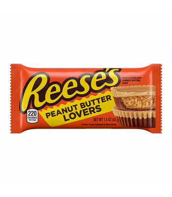 Reese's Limited Edition Peanut Butter Lovers Peanut Butter Cups - 1.5oz (42g) Sweets and Candy Reese's
