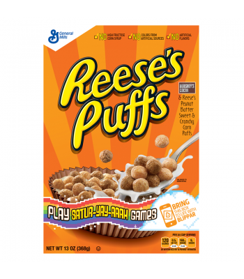 Reese's Puffs Cereal 13oz (368g)  Breakfast & Cereals Reese's