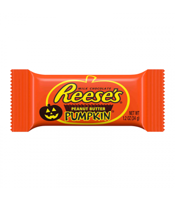 Reese's - Milk Chocolate Peanut Butter Pumpkins - 1.2oz (34g)  Fall & Halloween Candy 2017 Reese's