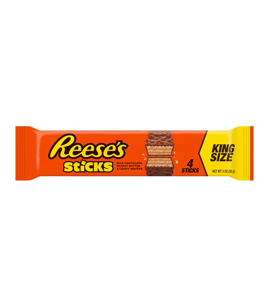 Reese's Sticks King Size 3oz (85g) Chocolate, Bars & Treats Reese's