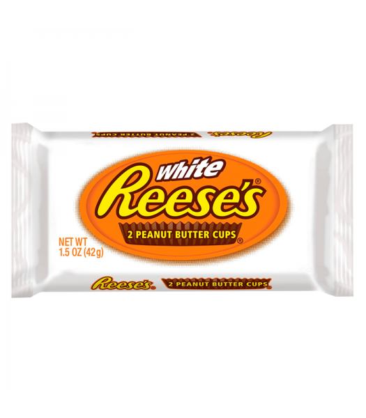 Reese's White Chocolate Peanut Butter Cups 1.5oz (42g) Chocolate, Bars & Treats Reese's