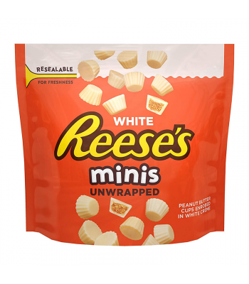 Reese's White Unwrapped Minis - 7.6oz (215g) Sweets and Candy Reese's