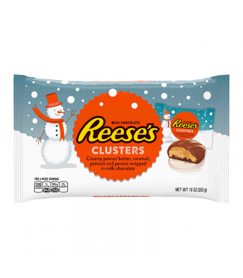 Reese's - Peanut Butter Clusters Bag - 10oz (283g) [Christmas] Sweets and Candy Reese's