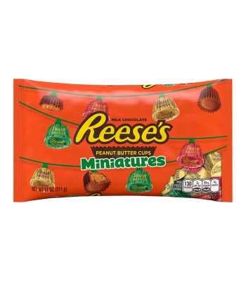 Reese's Peanut Butter Cup Miniatures - 11oz (311g) [Christmas] Sweets and Candy Reese's