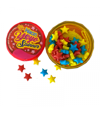 Candy Castle Crew Neon Yo-Yo Spinner - 6g Sweets and Candy Rose Marketing