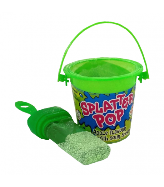Candy Castle Crew Splatter Pops - 33g Sweets and Candy Rose Marketing