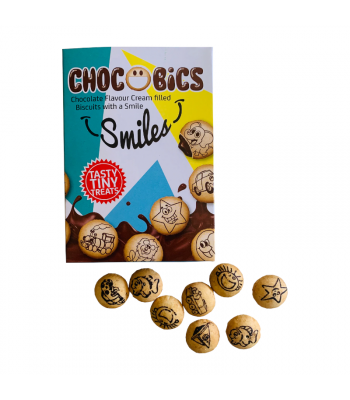 Chocobics Smiles - 40g Clearance Zone