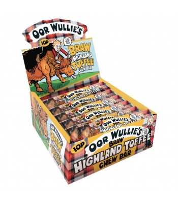 Oor Wullie's Braw Highland Toffee Chew Bar 11g Sweets and Candy