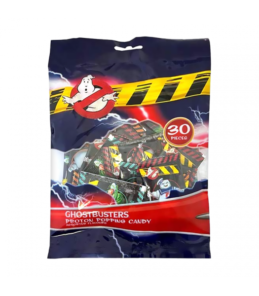 Ghostbusters Proton Popping Candy 30-Pieces (33g) Sweets and Candy Rose Marketing